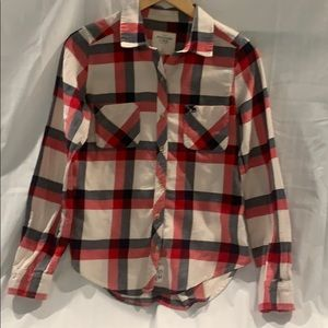 Abercrombie & Fitch Button Down Flannel Shirt